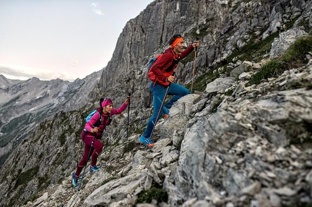 Die Dynafit Outdoor Kollektion 2021 Athletic Mountaineering und Limitless sind funktional leicht und komfortabel