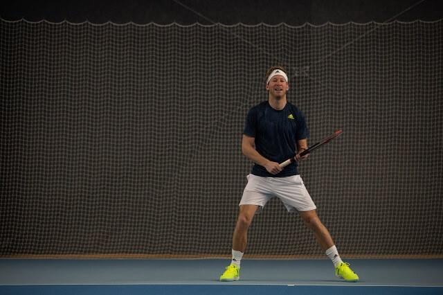 Die adidas Tennisbekleidung für das große Turnier in Australien wird ebenfalls aus recyceltem Polyester entwickelt