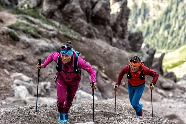 Dynafit Limitless und Dynafit Athletic Mountaineering Outdoor Bekleidung ist perfekt geeignet für lange dynamische Bergtouren