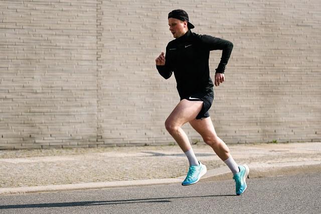 Die Nike ZoomX Vaporfly NEXT% 2 Laufschuhe überzeugen im Running Test 2021 mit viel Komfort und Dynamik