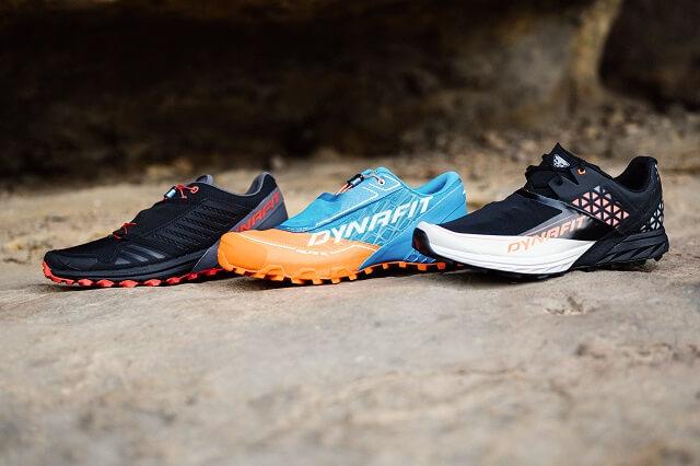 Der Dynafit Alpine Pro Feline SL und Alpine DNA Trailrunning Schuh im Vergleich Test 2021