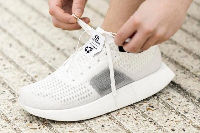 Die Salomon INDEX01 Schuhe sind nachhaltige Produkte die nach ihrer Nutzung zu Skischuhe recycelt werden können