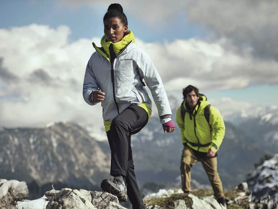 Die neue adidas Terrex Swift in the mountains Kollektion im Test