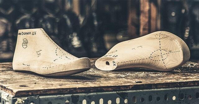 HANWAG Bergschuhe werden mit speziellen Leisten gefertigt damit die Schuhe beim wandern gut an jeden Vorfuß passen