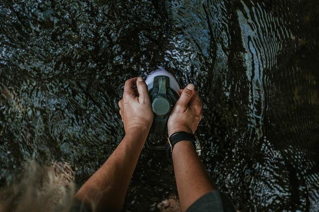 Mit dem GEOPRESS Filter System kannst du mit den GRAYL Trinkflaschen immer und überall sauberes Wasser bekommen auf allen Outdoor Abenteuer