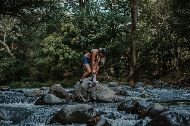 Sauberes Trinkwasser ist auf allen Outdoor Abenteuer die wichtigste Ausrüstung und dank der GRAYL Geopress Flaschen hast du es immer auf deinen Touren dabei