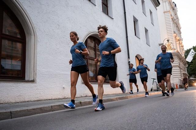 Das On Running Team startet beim Brand City Clash by Keller 2021