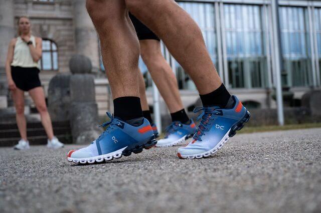 Die On Running Laufschuhe sind funktional leicht dynamisch und stehen für die beste Lauf Performance