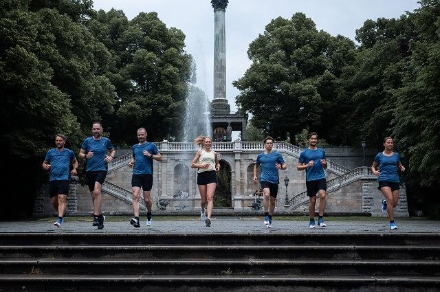 Die On Running Teams in München sind bereit für den Brand City Clash by Keller