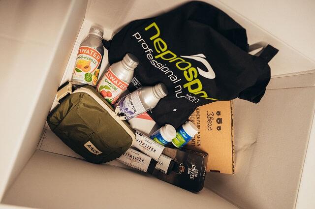 Die Ernährungspakete beim BRAND CITY CLASH by KELLER mit den Produkten unserer Partner