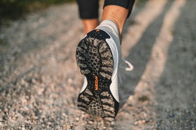 Die Sohle der Scarpa Mojito Bio Outdoorschuhe verleiht den Schuhen viel Grip und macht sie auch für kleine Wanderungen perfekt geeignet