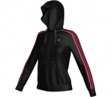 Adidas - Damen Essentials 3 Stripes Hoody Jacket - Damen Sportbekleidung