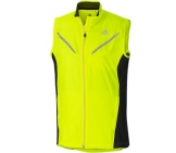 Adidas - adiVIZ High Beam Vest - yellow Men running apparel