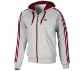 Adidas - Men Essentials 3 Stripes Full Zip Hoody Men Sport apparel