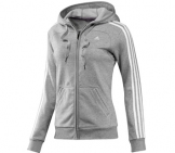 Adidas - Damen Essentials 3 Stripes Hoody Jacket Damen Sport apparel