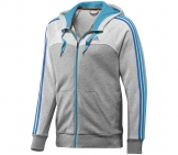 Adidas - Herren Full Zip Hood - HW12 Men Sport apparel