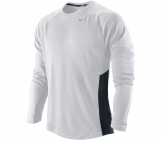 Nike - Running shirt Men Miler Longsleeve UV - Men running apparel