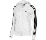Adidas - Damen Essentials 3 Stripes Full Zip Hoody Damen Sport apparel