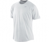 Nike - Mens Runnig Shirt Miler Shortsleeve UV - Men running apparel