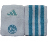 Adidas - French Open Wristband Large Adidas Tennisbekleidung Adidas