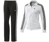 Adidas - Damen Essentials 3 Stripes Trainingsanzug Damen Sportbekleidung