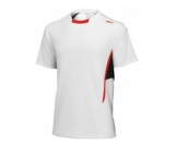 Wilson - JR Boys New Crew Shirt white kids tennis apparel