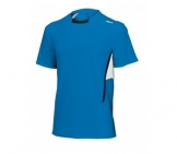 Wilson - JR Boys New Crew Shirt lightblue kids tennis apparel
