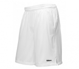 Wilson - Boys Woven Short (20cm) white kids tennis apparel