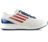 Adidas - Ace II Clay Synthetic white/blue/red- Men tennis shoe
