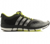 Adidas - Adipure Motion Men black/lime yellow- Men running shoe