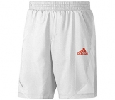 Adidas - Adizero Bermuda white/red - SS12 Men tennis apparel