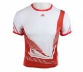 Adidas - AdiZero Crew Boys white/red - SS12 kids tennis apparel