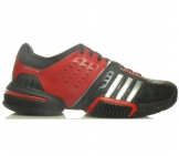 Adidas - Barricade 6.0 Junior - black/red HW11 kids tennis shoe