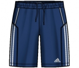 Adidas - Boys Response Bermuda blue/white - HW12 kids tennis apparel