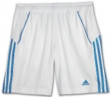 Adidas - Boys Response Bermuda white/blue - HW12 kids tennis apparel