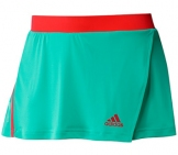 Adidas - Girls Adizero Skort green - HW12 kids tennis apparel