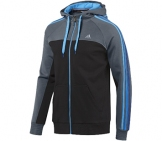 Adidas - Herren Essentials 3 Stripes Full Herren Sport apparel