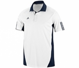 Adidas - Kids Barricade Team Traditional Polo - kids tennis apparel