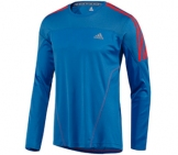 Adidas - Running Shirt Men Response LS Tee - Men running apparel