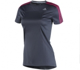 Adidas - Running Shirt Women Response SS Tee - Women running apparel
