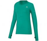 Adidas - Laufshirt Damen Sequencials L/S Tee - Damen running apparel