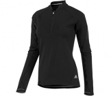 Adidas - Running Shirt Women Sequentials 1/2 Zip Women running apparel