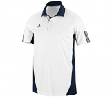 Adidas - Men Barricade Team Traditional Polo - Men tennis apparel