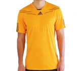 Adidas - Men Barricade Crew Tee gold - HW12 Men tennis apparel