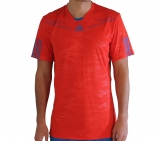 Adidas - Men Barricade Crew Tee red - HW12 Men tennis apparel