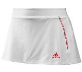 Adidas - Women Barricade Skort white/red HW12 Women tennis apparel