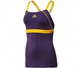 Adidas - Women Barricade Tank violet/gold - HW12 Women tennis apparel