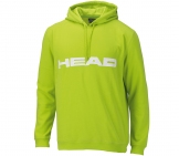 Head - Club Men Hoody - green/white Men tennis apparel