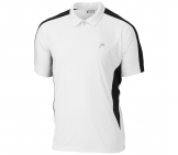 Head - Club Men Polo White/black Men tennis apparel