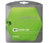Luxilon - Savage Lime 12,2m (1,27mm) Luxilon tennis string sets Luxilon